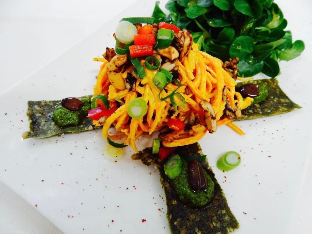 Vegetarijanska in presna ponudba